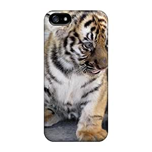 New 6Plus Super Strong Small Tiger Tpu Case Cover For Iphone 5/5s