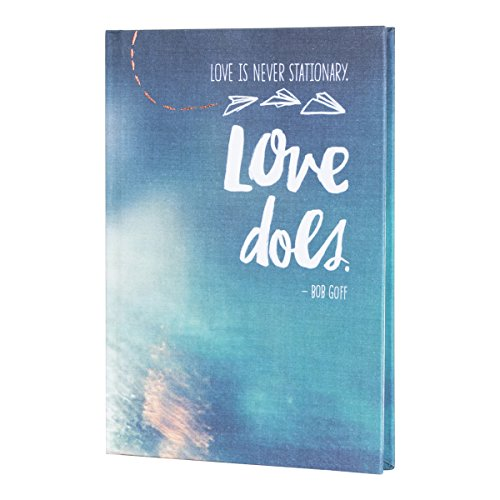 DaySpring Bookbound Journal Hardcover Diary Notebook, Love Does by Bob Goff
