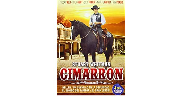 Amazon.com: Cimarron Vol. 5 - Stuart Whitman - (4 DVD ...