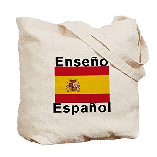 CafePress Unique Design Spanish Teacher Tote Bag - Standard Multi-color by CafePress