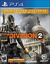 Tom Clancy's The Division 2 - PlayStation 4 Gold Steelbook Edition