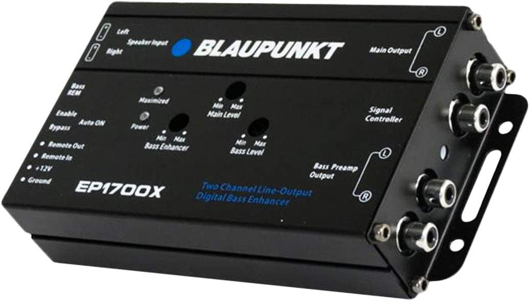 Blaupunkt EP1700X Car Audio Digital Bass Enhancer /& Bass Note Restorer