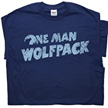 One Man Wolfpack T Shirts The Hangover Funny Cult Movie Wolfman Shirtmandude