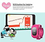 TURNMEON-Smart-Watch-for-Kids-Children-Smartwatch-Phone-with-SIM-Calls-Anti-lost-GPS-Tracker-SOS-GPRS-Bracelet-Parent-Control-for-Smartphone-Pink