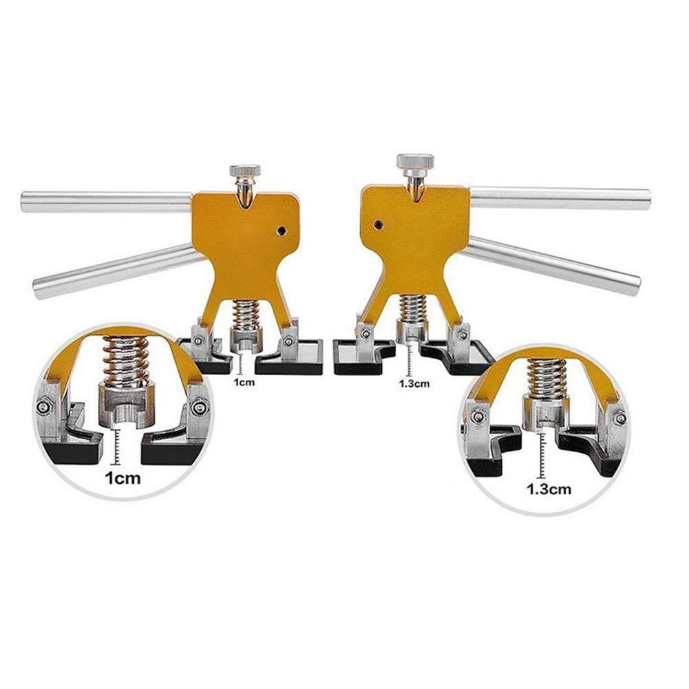 Kit di Riparazione per carrozzeria Auto estrattore di ammaccature con Ponte a Doppio Polo estrattore di Colla Pala per Colla JiuRong