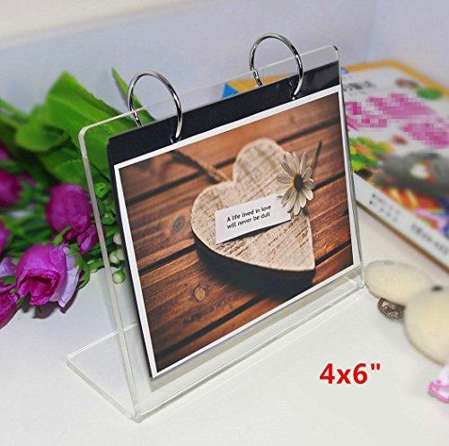 tabletop flip photo album - 2