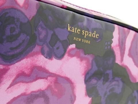Kate Spade New York Women's Circle Mirror Leather Keychain