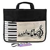 MagiDeal Musical Instrument Piano Keyboard Handbag Shoulder Bag Backpack for Students Gift