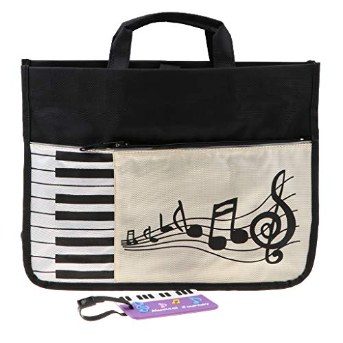 MagiDeal Musical Instrument Piano Keyboard Handbag Shoulder Bag Backpack for Students Gift by non-brand