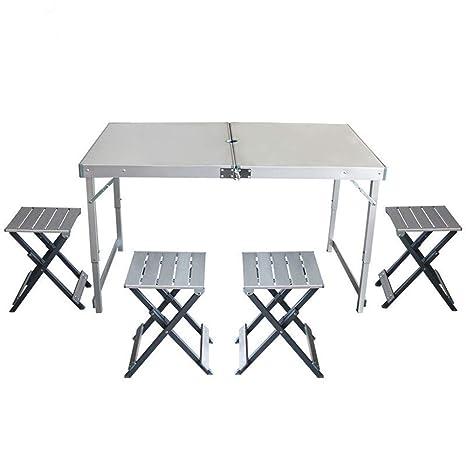 Gghy-camping tables Mesa Plegable de aleación de Aluminio ...