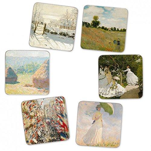 Paris - Musée d'Orsay Claude Monet - Cork Coasters (set of 6)