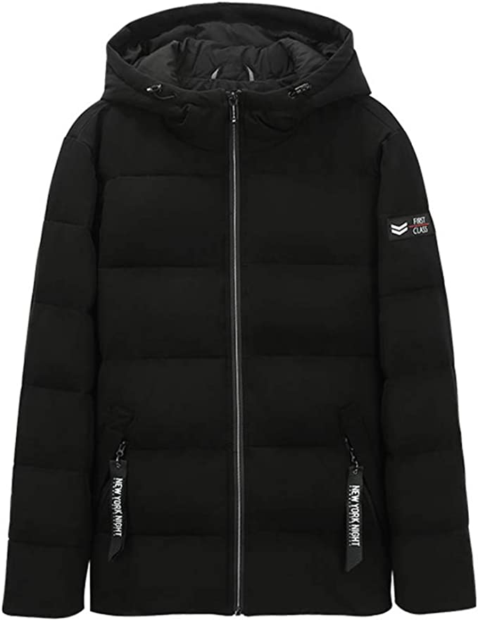 Qifengshop Chaqueta de algodón de abrigo para hombre abrigo con ...