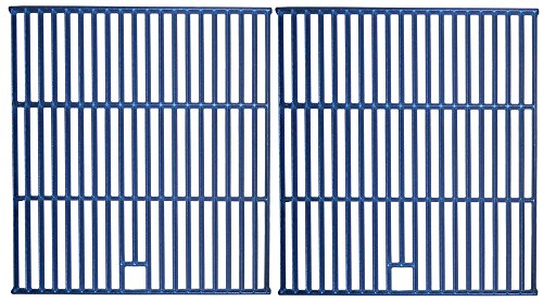 Music City Metals 63192 Matte Cast Iron Cooking Grid Replacement for Gas Grill Models Kenmore 139.01566310 and Kenmore 640-04921798-7, Set of 2 by Music City Metals
