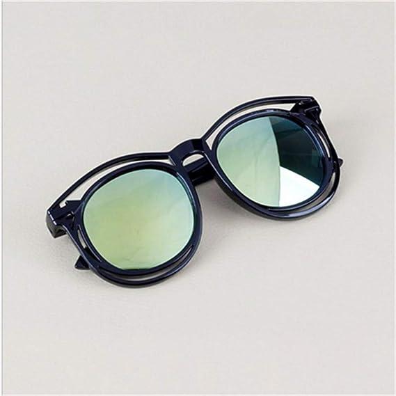 Wang-RX Gafas de sol con montura de moda para niños, niñas y ...