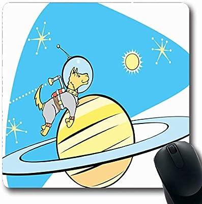 Luancrop Alfombrillas de Mercury Age Retro Space Dog por Planet ...