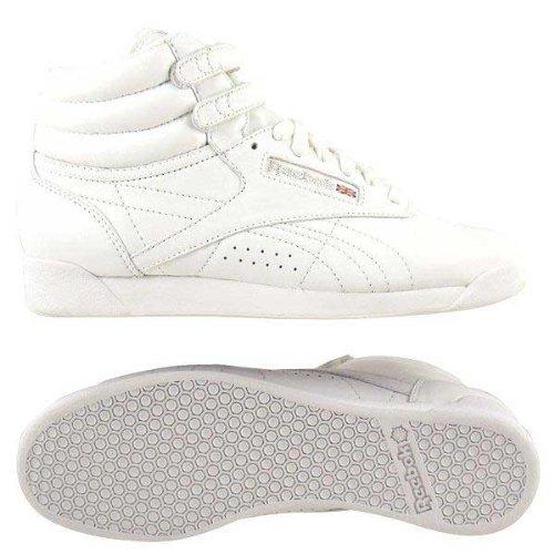 Reebok Classic Freestyle Hi Womens - White 11