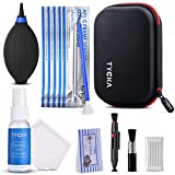 Tycka Professional Camera Cleaning Kit TK005 (with waterproof case), 30ml non-toxic alcohol-free cleaning solution, improved uni-body air blower, cleaning swabs, lenspen, microfiber cleaning cloth for DSLR, Lens and Sensors