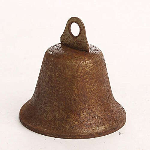 Factory Direct Craft Rusty Tin Miniature Liberty Bells | 6 Bells | for Indoor or Outdoor Decor