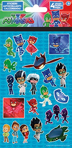 Trends International PJ Masks Standard Stickers 4/Pkg ()