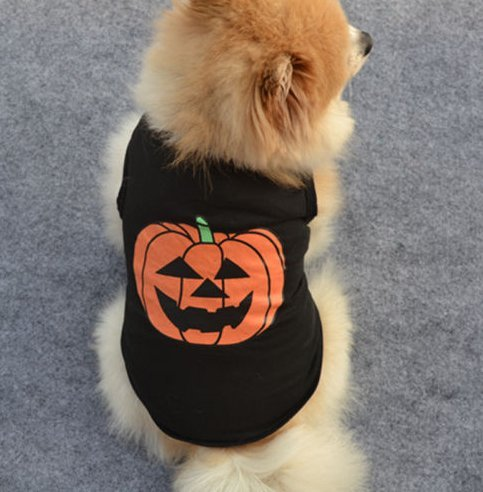 Bantha Dog Costume (Dragon Honor Pet Dog Cat Costume Clothes Halloween Pumpkin Costumes Party T-Shit (S))