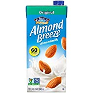 Almond Breeze Dairy Free Almondmilk, Original, 32-Ounce Boxes (Pack of 12)