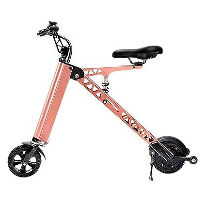 Bicicleta eléctrica Vespa Plegable eléctrica Mini Vespa portátil, pequeño Coche eléctrico Femenino múltiples Funciones (