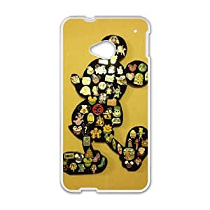 Disney Mickey Mouse Minnie Mouse HTC One M7 Cell Phone Case White Fantistics gift A_066736