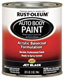 Auto Body Paint, Jet Black, 1 Qt.