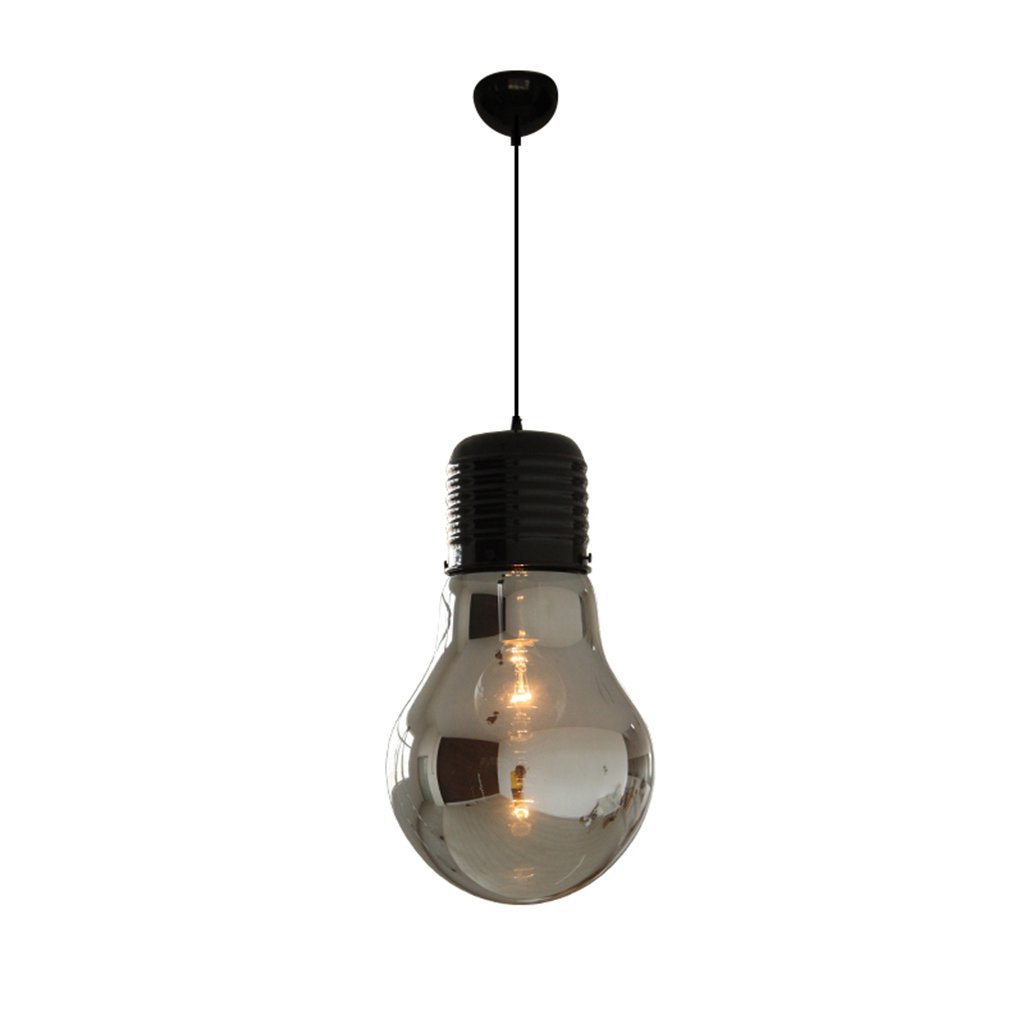 ZYANZ- Chandelier Industrial Wind Creative Bedroom (E27 Lighting Interface) Clothing Store Features Bar Decorative Lamps Vintage Bulb Chandelier ( Size : 26cm41cm )