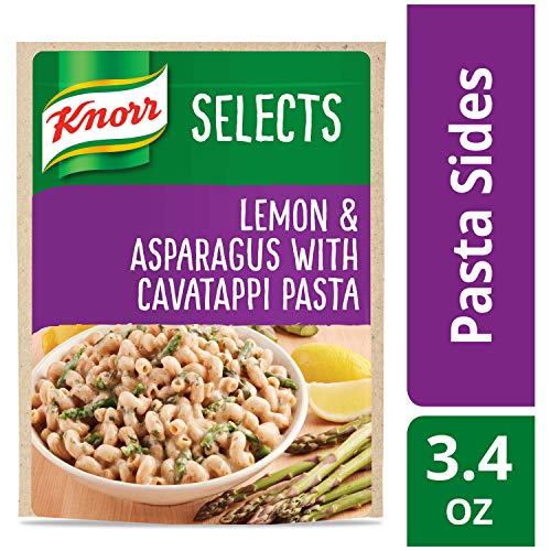 Knorr Selects Pasta Side Dish, Lemon & Asparagus with Cavatappi Pasta, 3.4 oz