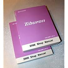 Amazon hyundai motor company books 2006 hyundai tiburon shop manuals 2 volume set fandeluxe Image collections