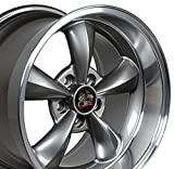 OE Wheels 17 Inch Fits Ford Mustang 1994-2004 Bullitt Style FR01 Anthracite 17x10.5 Rim Hollander 3448