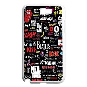 DDOUGS The Beatles Personalized Cell Phone Case for Samsung Galaxy Note 2 N7100, Best The Beatles Case