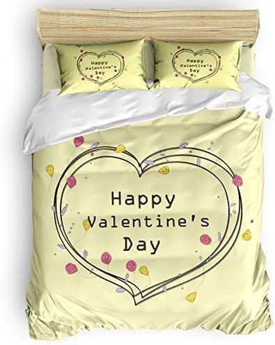 CHARMHOME 寝具4点セット サボテンとミスター Deer On 木目調掛け布団カバーセット - フラットシーツ1枚、掛け布団カバー1枚、枕カバー2枚 - Twin Size