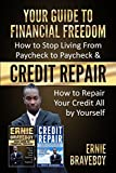 YOUR GUIDE TO FINANCIAL FREEDOM How to Stop Living From Paycheck to Paycheck & CREDIT REPAIR How to Repair Your Credit All by Yourself: FIX YOUR CREDIT AND GET FINANCIAL FREEDOM