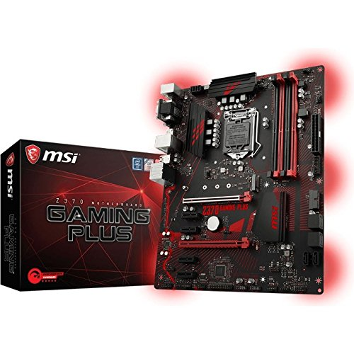 MSI Z370 GAMING PLUS CFX ATX Motherboard