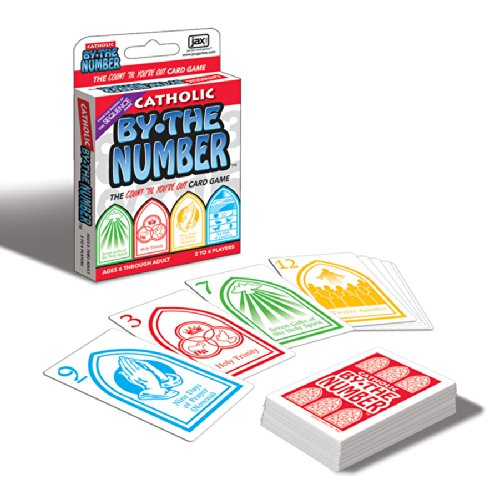 Catholic By The Number Card Game