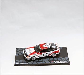 Coches Rally IXO 1:43 1:43 Toyota Celica GT4 (ST165) - Schwarz-A.Hertz.1991 - RAL117: Amazon.es: Juguetes y juegos