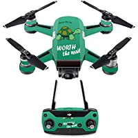 Skin for DJI Spark Mini Drone Combo - Late Turtle| MightySkins Protective, Durable, and Unique Vinyl Decal wrap cover | Easy To Apply, Remove, and Change Styles | Made in the USA
