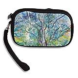 CMTRFJ Unisex Wallet for Woman Ladies -Vivid Tree Purse Bag Men Gentlemen