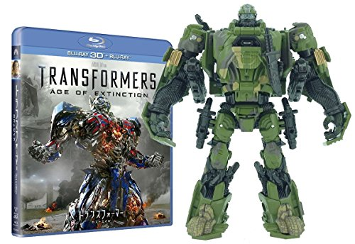 Transformers :Age of Extinction Blu-ray Amazon.co.jp LTD Ed Hound Army Camo Ver.
