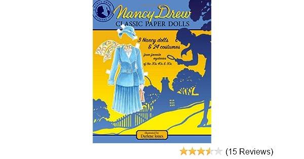2 Books CLASSIC NANCY DREW and NANCY DREW /& FRIENDS Paper Dolls SPECIAL OFFER