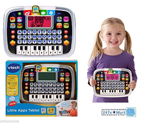 NEW! VTech Little Apps Tablet Teach Letters Numbers Educational Toy Toddlers