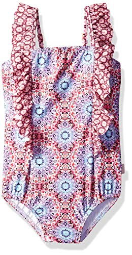 Seafolly Girls Frill Front Tank One Piece Swimsuit