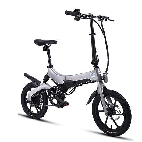 ConvenientCoche eléctrico Plegable Bicicleta para Adultos Batería ...