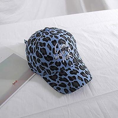 zhuzhuwen Versión Coreana de Gorras de béisbol de Leopardo para ...