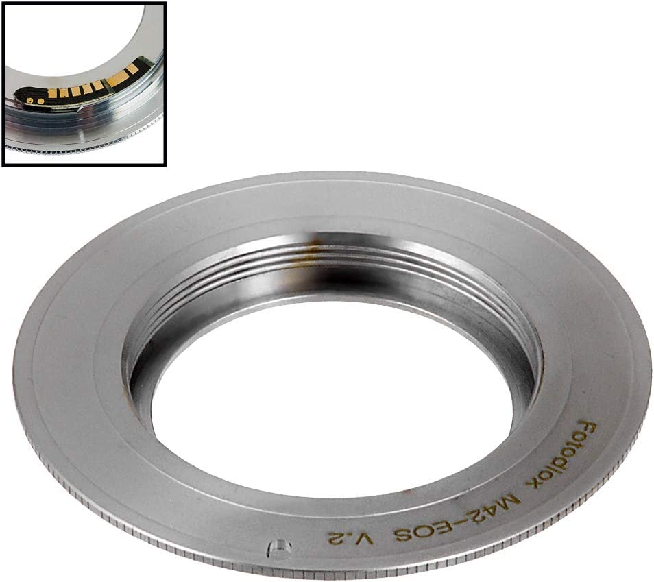 GS-1 Fotodiox Pro Lens Mount Adapter PG Lens to Canon EOS EF-Mount DSLR Cameras for Bronica GS