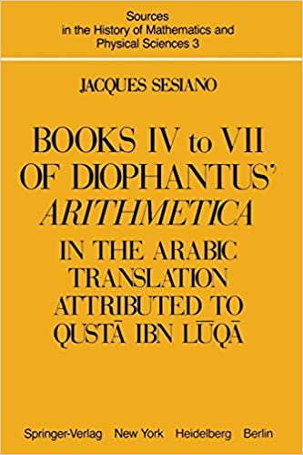 Books IV to VII of Diophantus' Arithmetica : in the Arabic Translation Attributed to Qustā ibn Lūqā