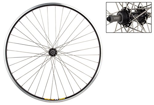WM Weinmann Zac19 Rear Wheel, 700x35, 36H, 5/6/7-spd , QR, Black MSW (Wheel 700c Rear Alloy)