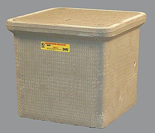 Quazite PC Underground Enclosure Assembly, Electric, 12''L x 12''W x 12''H Nominal Dimension - 1 Each by Quazite
